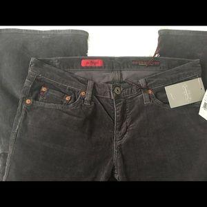 """NWT Anthro """"AG"""" Corduroy Jeans"""